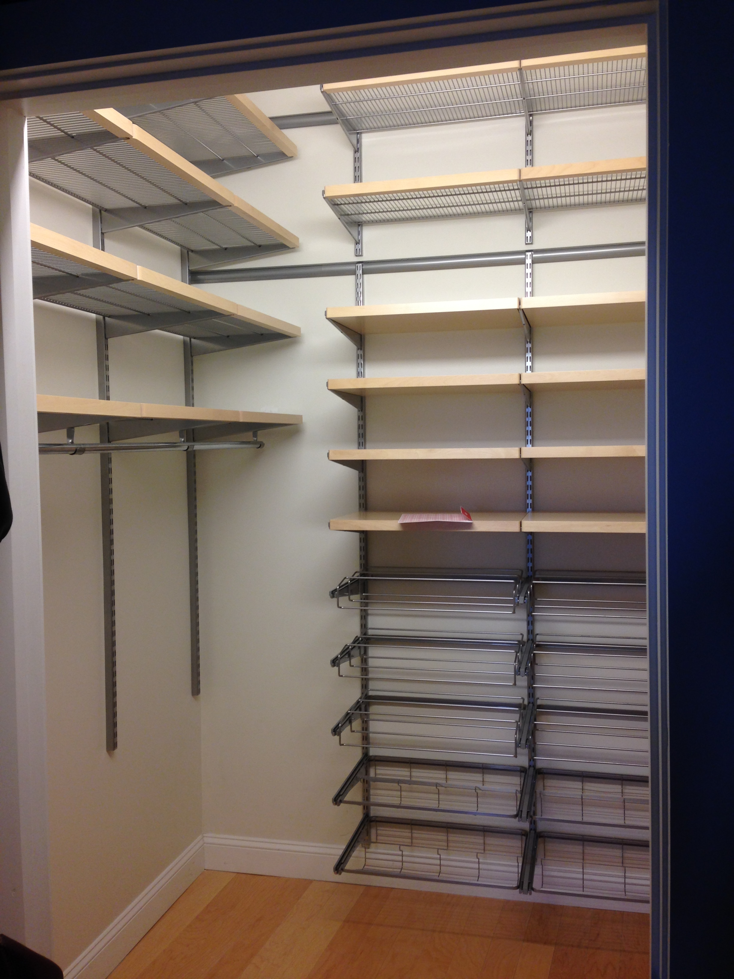 Closet Make Over With Elfa Soloff Space Solutions